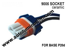 9005 Headlight Socket Pigtail
