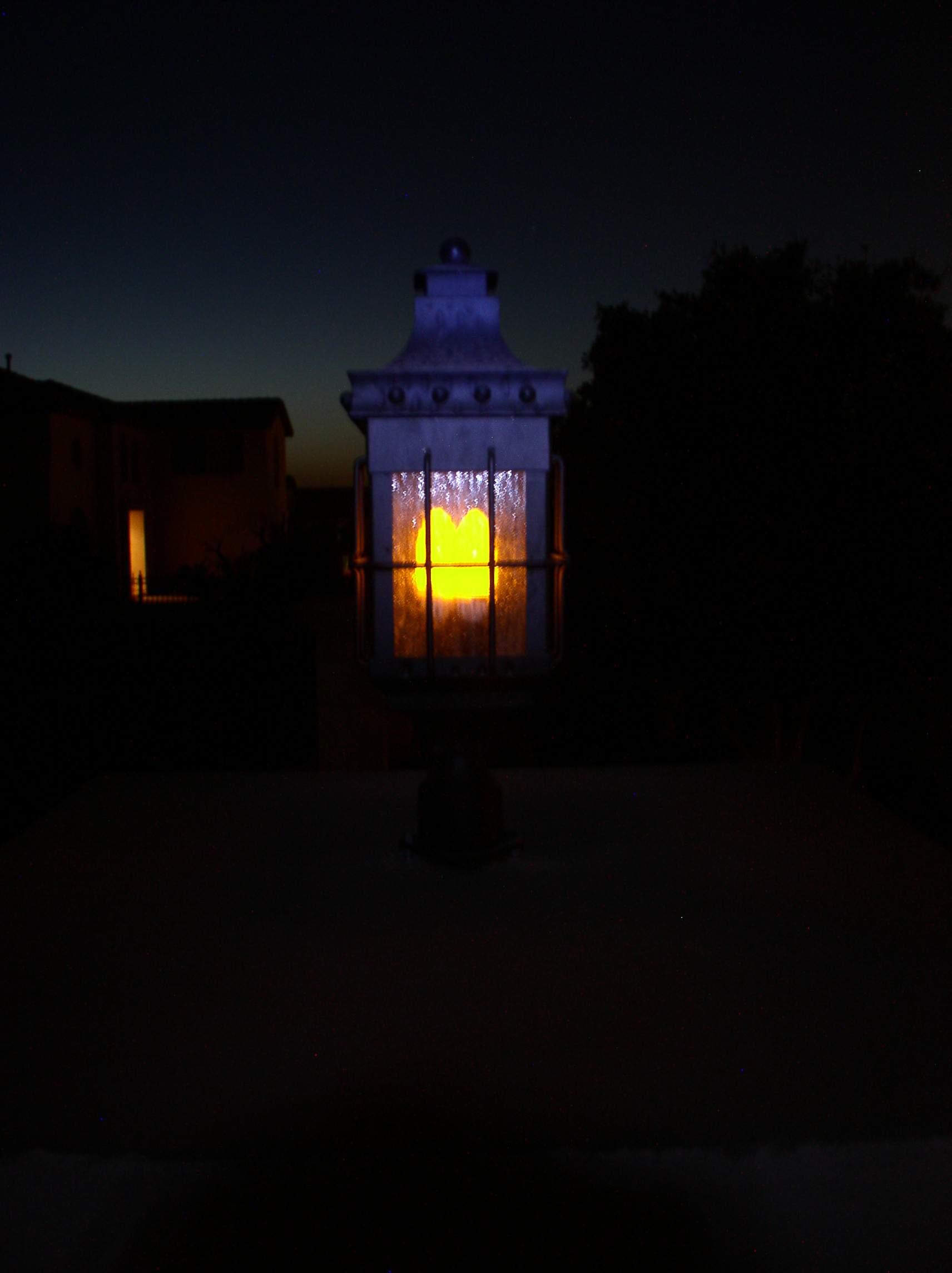 Candelabra gas light