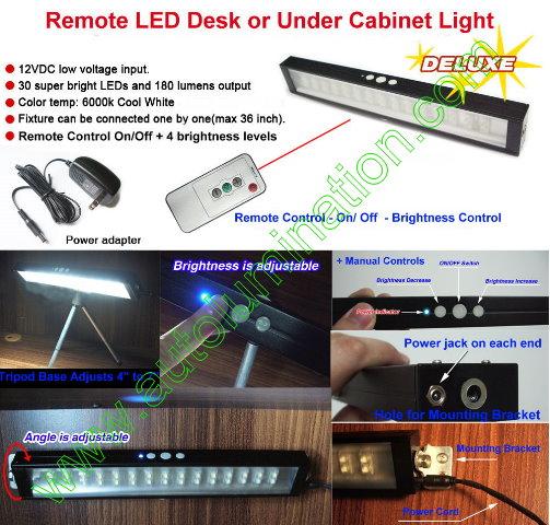Led Undercounter Desk Light